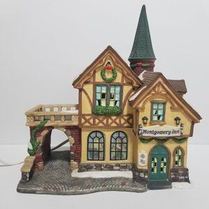 Holiday Time Village Collectibles Montgomery Inn